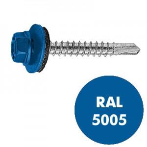 Кровельный RAL5005 Ярко-синий