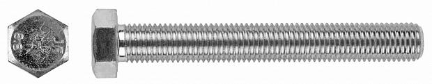 Болт DIN 933 кл 5,8, цинк
